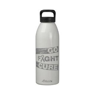Parkinson's Disease Go Fight Cure Water Bottle