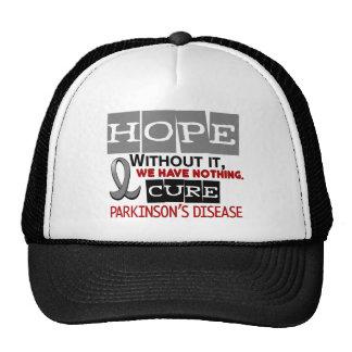 Parkinson's Disease HOPE 2 Hats