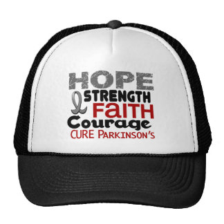 Parkinson's Disease HOPE 3 Hats
