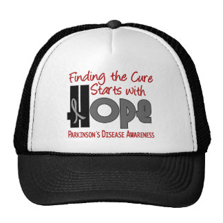 Parkinson's Disease HOPE 4 Mesh Hats