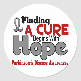 Parkinson's Disease HOPE 5 Stickers