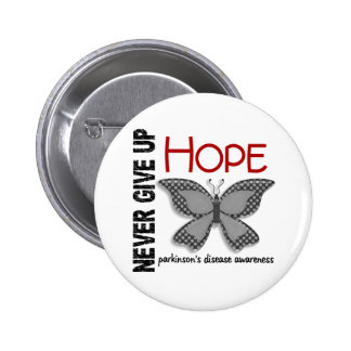 Parkinson s Disease Never Give Up Hope Butterfly 4 Pin