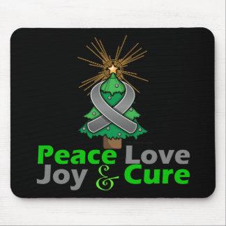 Parkinson s Disease Peace Love Joy Cure Mousepads