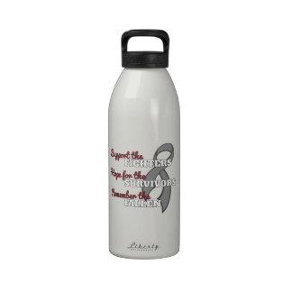 Parkinson's Disease Support Hope Remember Reusable Water Bottles