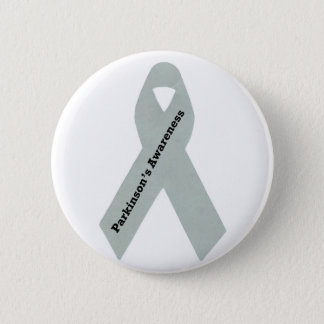 Parkinson's Awareness Ribbon 6 Cm Round Badge