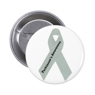 Parkinson's Awareness Ribbon 6 Cm Round Badge