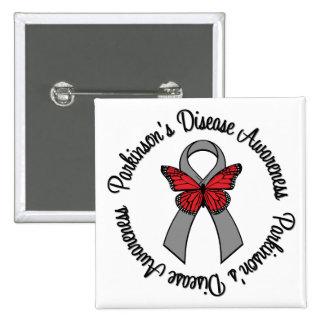Parkinson's Disease Awareness 15 Cm Square Badge