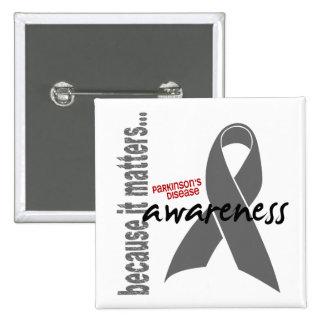 Parkinsons Disease Awareness Button
