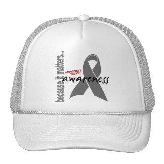 Parkinsons Disease Awareness Mesh Hat