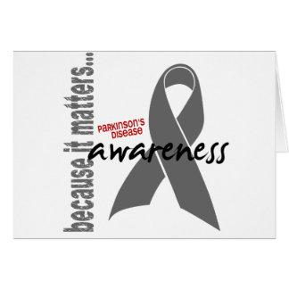 Parkinsons Disease Awareness Greeting Card