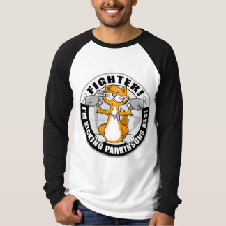 Parkinson's Disease Boxing Cat T-Shirt