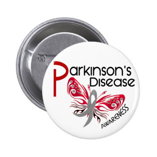 Parkinsons Disease BUTTERFLY 3.1 6 Cm Round Badge