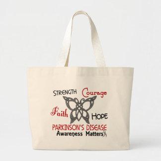 Parkinson's Disease Celtic Butterfly 3 Bag