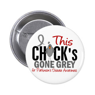Parkinsons Disease Chick Gone Grey Pins