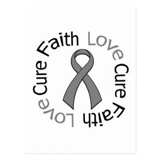 Parkinson's Disease Faith Love Cure Postcard