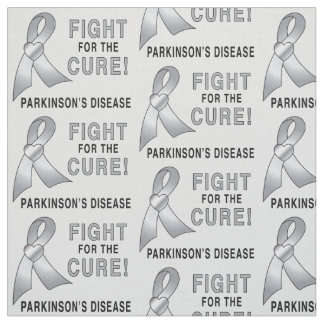 Parkinson's Disease: Fight for the Cure Fabric
