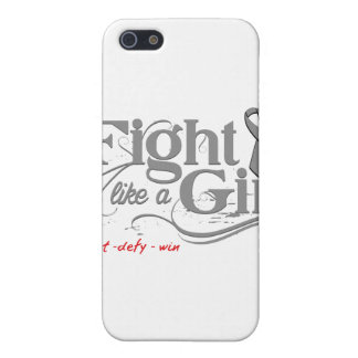 Parkinson's Disease Fight Like A Girl Elegant iPhone 5 Cases