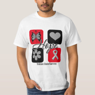 Parkinsons Disease Hope Love Inspire Awareness T-Shirt