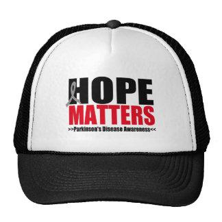 Parkinson's Disease HOPE MATTERS Trucker Hats