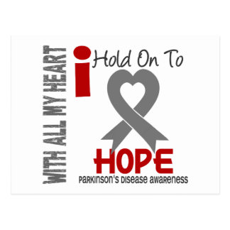 Parkinsons Disease I Hold On To Hope Postcard