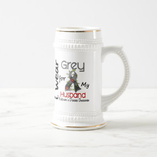 Parkinsons Disease I Wear Grey For My Husband 43 Coffee Mug