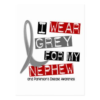 Parkinsons Disease I WEAR GREY FOR MY NEPHEW 37 Postcard