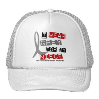 Parkinsons Disease I WEAR GREY FOR MY NIECE 37 Hats