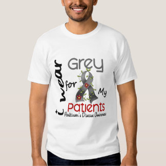 Parkinsons Disease I Wear Grey For My Patients 43 Shirts
