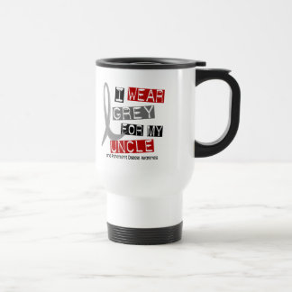 Parkinsons Disease I WEAR GREY FOR MY UNCLE 37 Mug