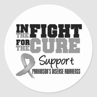 Parkinson's Disease In The Fight For The Cure Stickers