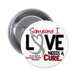 Parkinsons Disease NEEDS A CURE 2 6 Cm Round Badge