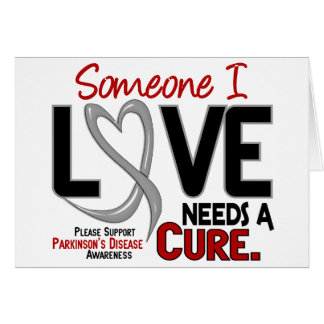 Parkinsons Disease NEEDS A CURE 2 Greeting Card