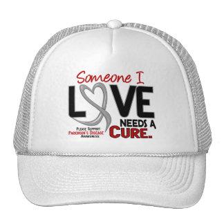 Parkinsons Disease NEEDS A CURE 2 Hat