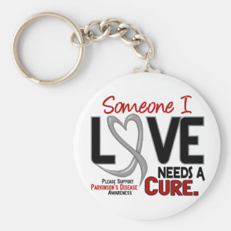 Parkinsons Disease NEEDS A CURE 2 Keychains