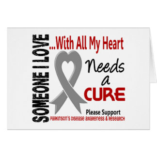 Parkinsons Disease Needs A Cure 3 Greeting Card