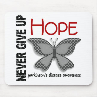 Parkinson's Disease Never Give Up Hope Butterfly 4 Mousepad
