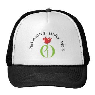 parkinson's disease, parkinsons disease, tulip, pd mesh hat