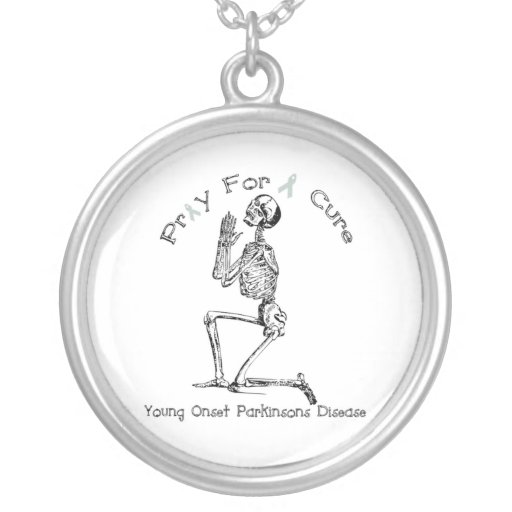 Parkinson's Disease Pray for a Cure Jewelry