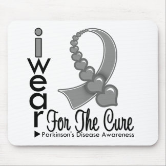 Parkinsons Disease Ribbon For The Cure Mouse Pads