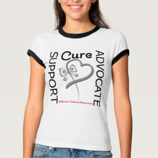 Parkinsons Disease Support Advocate Cure T-shirt