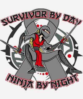 Parkinsons Disease Survivor By Day Ninja By Night T-shirts