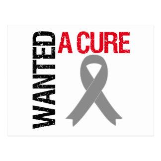 Parkinson's Disease Wanted A Cure Postcards