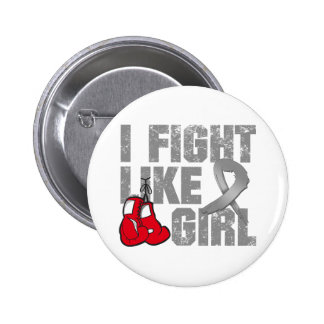 Parkinsons DiseaseI Fight Like A Girl (Grunge) 6 Cm Round Badge