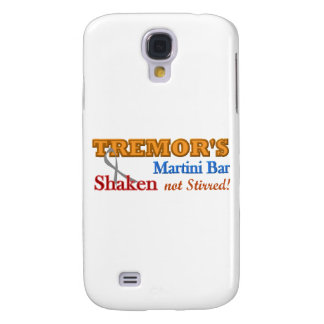 Parkinson's Tremor's Martini Bar Shaken Design Galaxy S4 Case