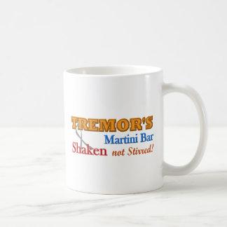 Parkinson's Tremor's Martini Bar Shaken Design Coffee Mugs