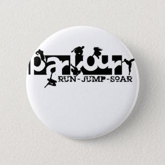 Parkour 6 Cm Round Badge
