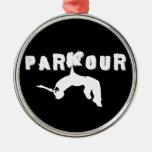Parkour Athlete Ornament