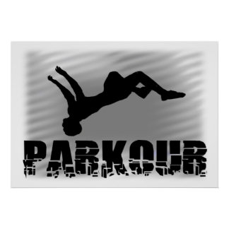Parkour Athlete poster