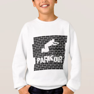 Parkour boys long sleeved sweatshirt