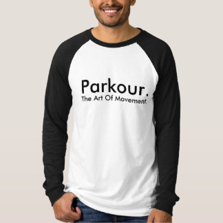 Parkour Customizable Team Shirt. T-Shirt